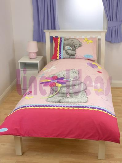 me to you bear teddy daisy single bed duvet cover set ebay. Black Bedroom Furniture Sets. Home Design Ideas